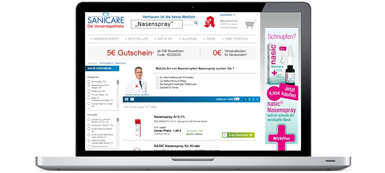Brands Case Display Ads Klosterfrau_Nasic