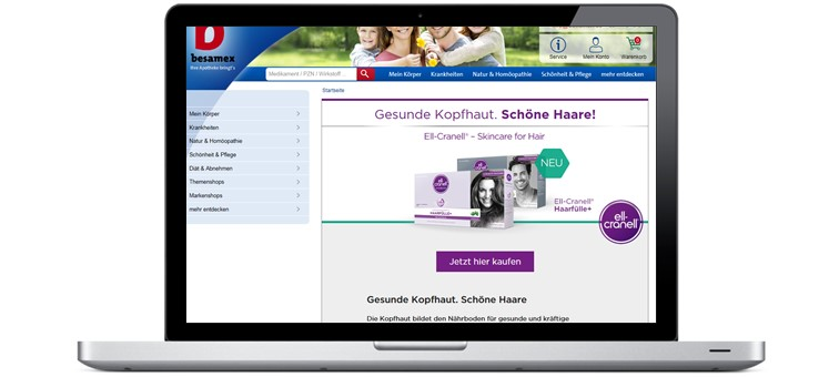 Cases Brands Microsite Galderma Ell-Cranell