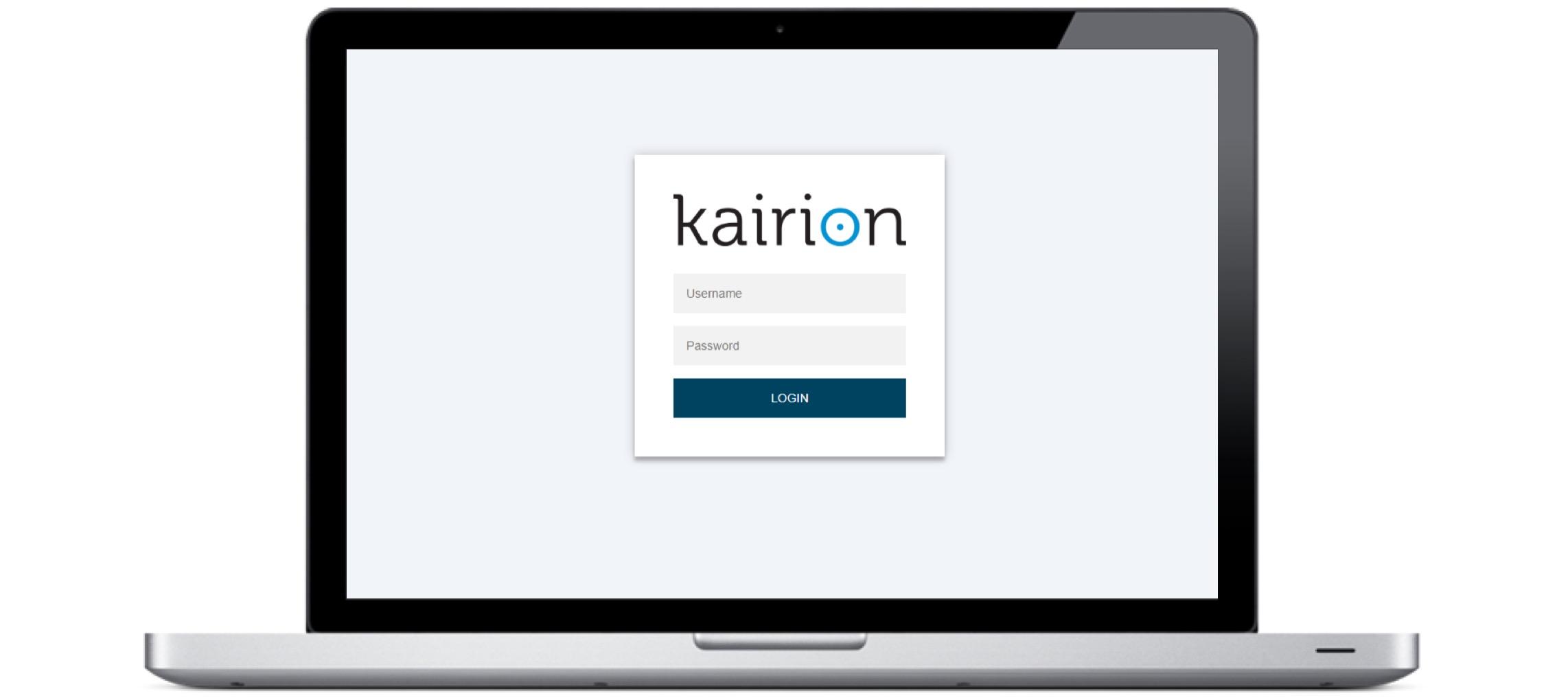Gallerie Kairion Plattform_SignIn