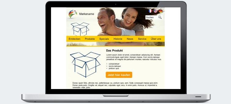 Produktvorschau Show Now Markenseite